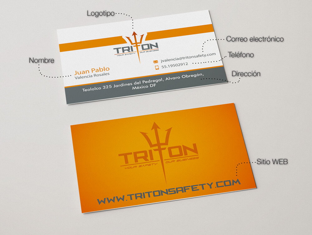 tarjeta de presentacion impresion